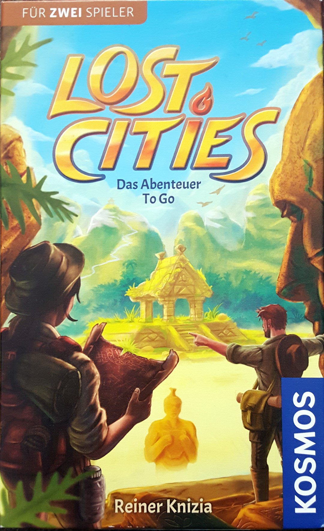 Lost Cities: To Go (Rezension)
